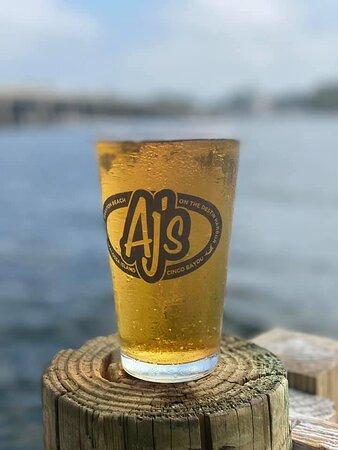 Aj's El Dorado beer