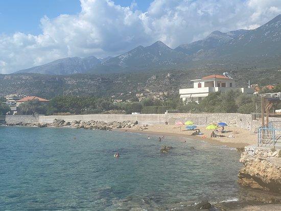 Halikoura beach