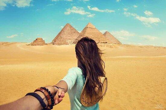 Journée du Caire (pyramides et musée...