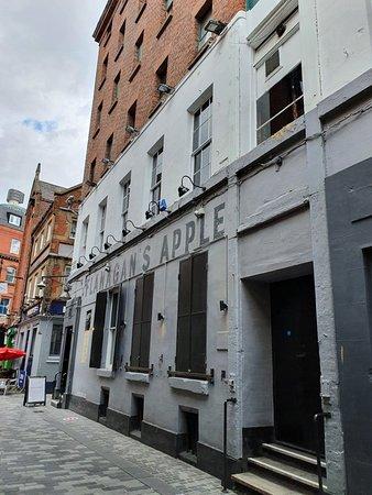 Flannigans Pub along Mathew Street