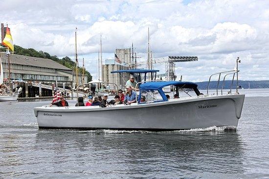 Tour guidato in barca di 2 ore a Port of Tacoma e Puget Sound
