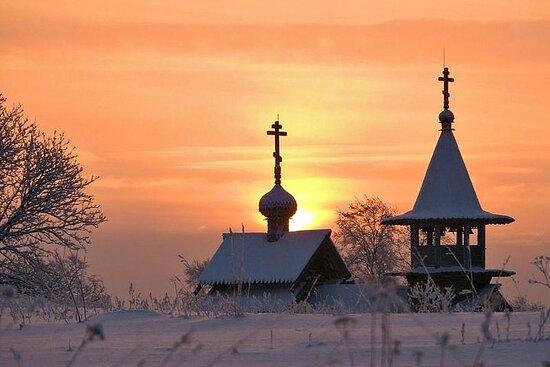 7-Day Winter Tour to St. Petersburg Kizhi Island and Karelia
