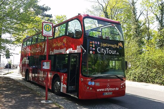 City Tour Karlsruhe in a double-decker bus