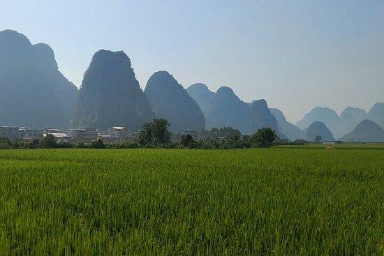 Tour privado de 10 días desde Guangzhou a Yangshuo y Nanning en coche
