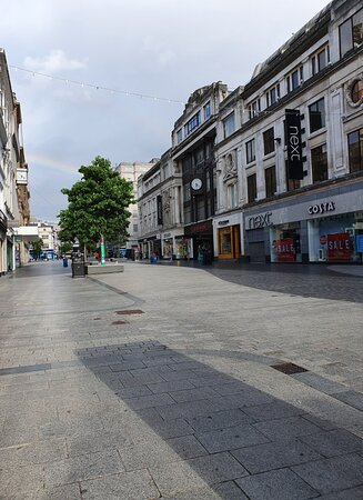 Lord Street area ,quiet after coronavirus lockdown restrictions lifted.