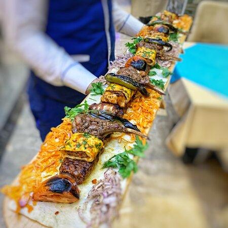 One Meter Grilled Adana  Kebab! @AED200