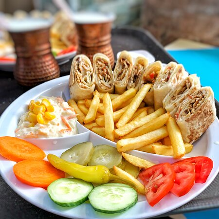 Chicken Shawarma Meal @AED20