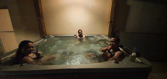 Presidential Suite Jacuzzi at the Balcony
