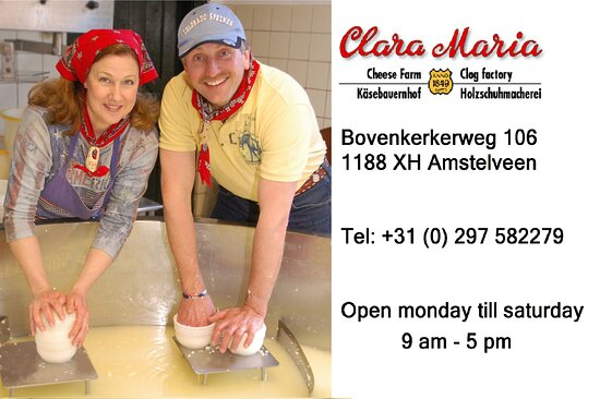 Clara Maria Cheese & Clog Farm