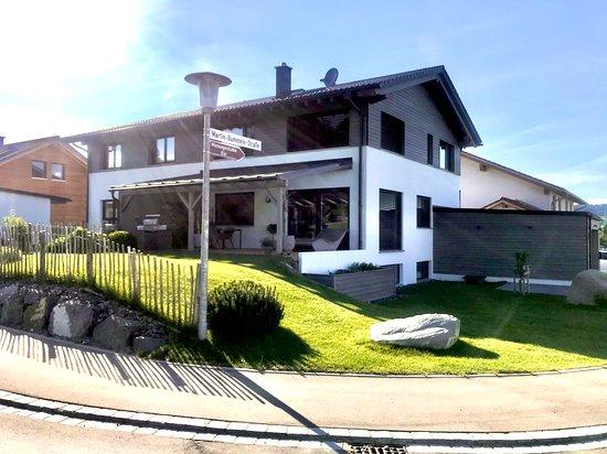 Buchenberg, Tyskland: Das Studio befindet sich im Haus.