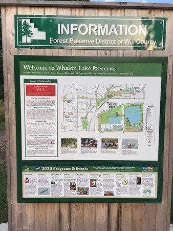 Whalon Lake Map