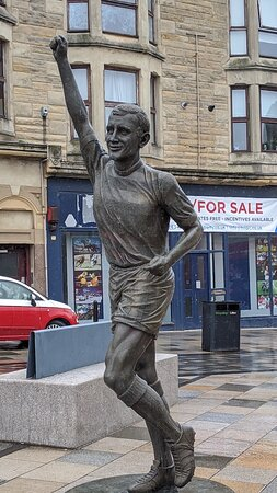 Bobby Lennox's Statue
