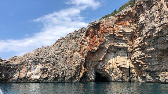 Blue Cave, Captain Ivan Boat Tours Kotor, Montenegro