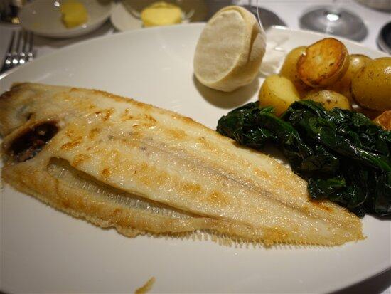 Harrington Park, NJ:  Dover sole healthiest and the  best fish you've ever eaten.
