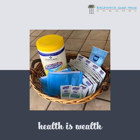Protecting your health is our priority!