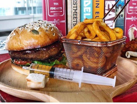 Whisky / Bourbon Burger