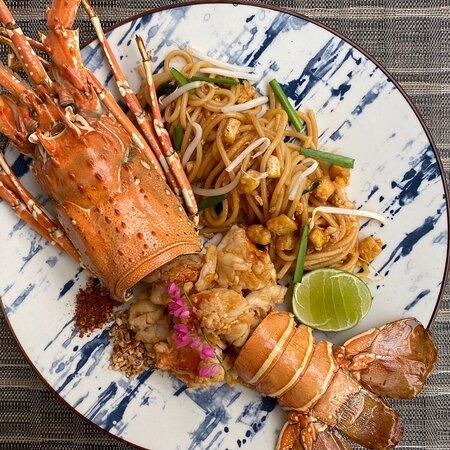 Trat Province, Thailand: Coffee & fusion Thai Seafood Restaurant.
