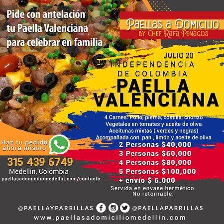 Celebra el 20 de Julio en familia con una paella valenciana