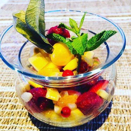 Poké Bowl, Dragon, salade de fruits