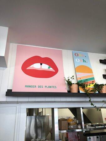 Restaurant végétarien et carnivore biologique