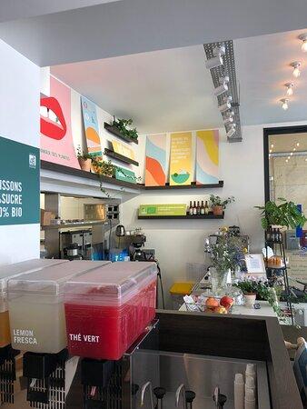 Restaurant bio  Chamonix sur place ou à emporter