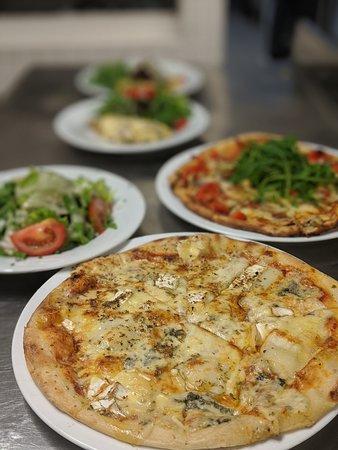 Toutes les pizzas au Panorama sont faites maison