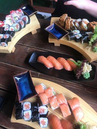 Táo Viet Nam Home Cooking & Sushi Bar: Flot og frisk Sushi