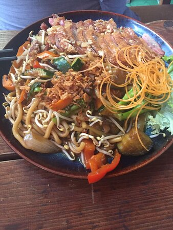 Táo Viet Nam Home Cooking & Sushi Bar: Udon Nudelret med and
