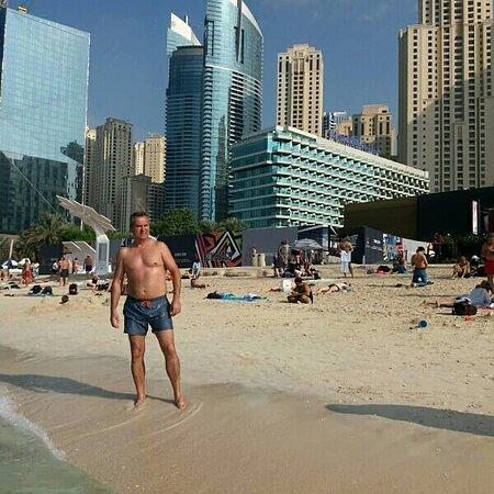 Jumeirah Beach Residence (JBR): Dubai Marina beach
