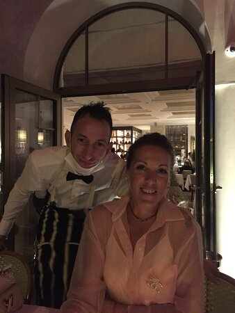 With Kelly our butler