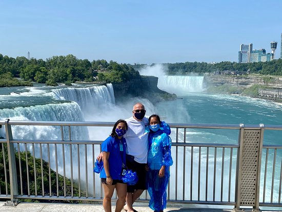 Niagara Falls American-Side Tour with Maid of the Mist Boat Ride صورة فوتوغرافية