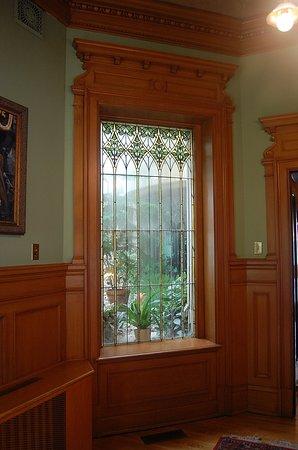 One of the decorative windows
