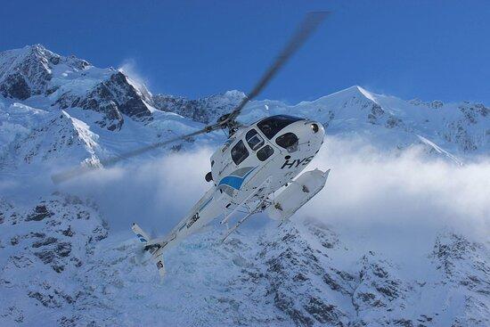 Aoraki Mount Cook National Park (Te Wahipounamu), New Zealand: Heliworks Mt Cook Helicopters