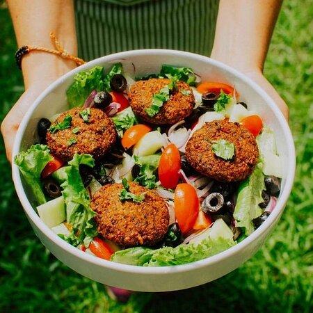 Falafel Salad Bowl