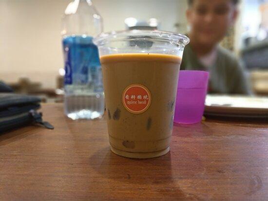 Thai milk tea,