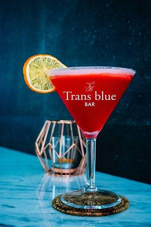 Trans Blue Bar