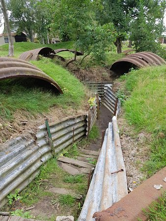 the trenches of WW1