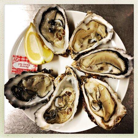 Huîtres de Noirmoutier de chez Nicolas Pineau