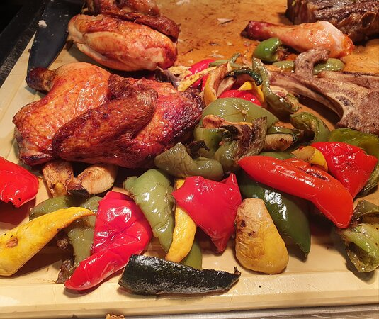Dinner at Vasco's