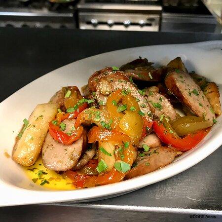 Sausage & Vinegar Peppers