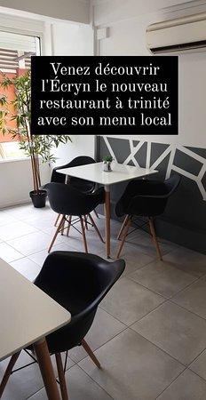 Nouveau restaurant à La Trinité