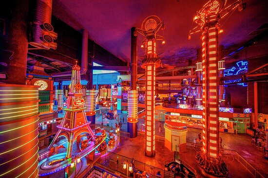 Skytropolis Indoor Theme Park