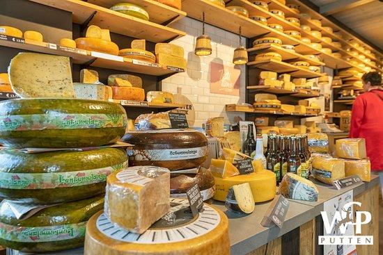 Nederlandse én buitenlandse kaasspecialiteiten --  Dutch and foreign cheese specialties