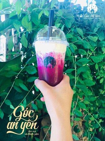 Red Dragon Fruit Milkshake - New drink for hot summer