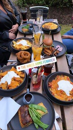 Fantastic food fantastic service