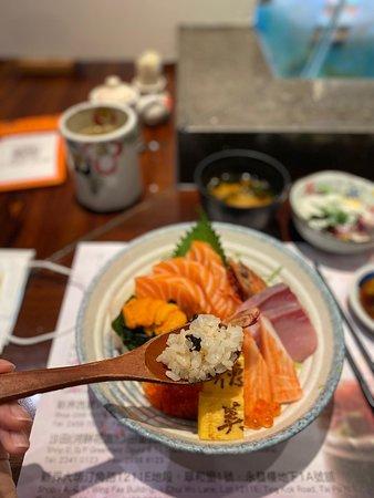 德美海膽魚生飯