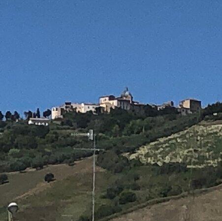 Montepagano .... con il sole di Mezzogiorno !!