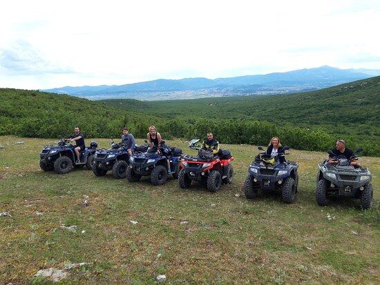 Hrvace, Horvátország: Izletiste Podastrana - quad safari