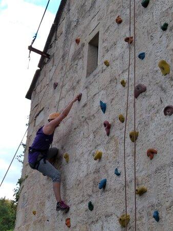 Hrvace, Horvátország: Izletiste Podastrana - climbing