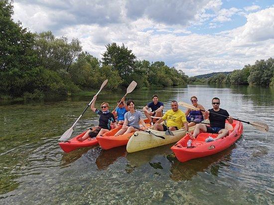 Hrvace, Horvátország: Izletiste Podastrana - kanu safari